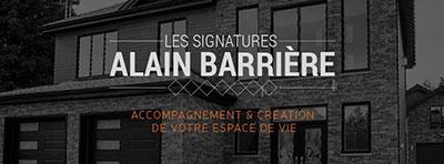 Les signatures Alain Barrière